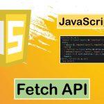 JavaScript-發送HTTP請求 Fetch API