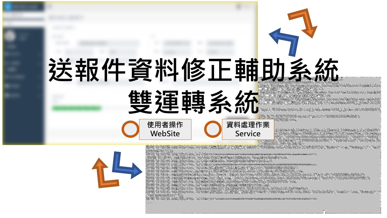 Read more about the article [專案成就]送報件資料修正輔助系統